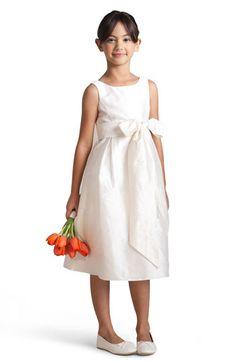 Us Angels Silk Shantung Dress (Little Girls & Big Girls) available at Nordstrom