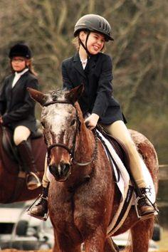Veronica Skoczek benefits from therapeutic riding program in Charlotte.