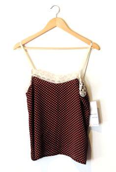 Musculosa / Talle 0 / Sedita + puntilla + cinta hilera de algodón / Pieza Única - Combinación única