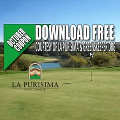 La Purisima Golf Course Tee Time Special