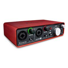 Focusrite Scarlett 2i2 USB2 2-in/2-out Audio Interface