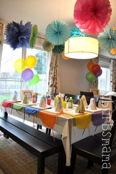Suburbs Mama: Kids Craft Birthday Party