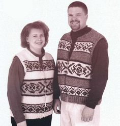 Briggs & Little - 5001 - Zippered Vest for Women & Men $4.00 US on Patternfish