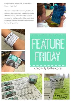 Feature Friday  Class website: Weebly.com