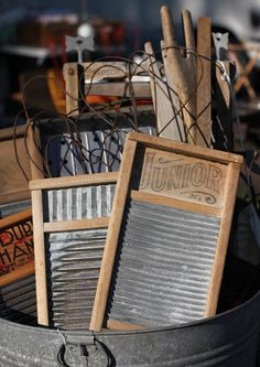 Antique Washboards | Maine Antiques Festival