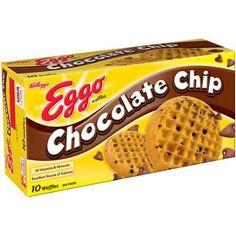 Kellogg's Eggo Chocolate Chip Waffles, 10 count, 12.3 oz - Walmart.com