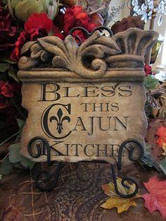 Fleur De Lis...great for Cajun or any kitchen. #fleur_de_lis #cajun