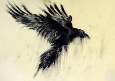 """Képtalálat a következőre: """"simple drawing raven"""""""