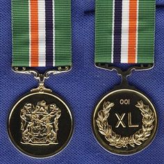 Medal for Distinguished Conduct and Loyal Service British Crown Jewels, Military Orders, Grand Cross, Defence Force, Crests, Military History, South Africa, Countries, Badge