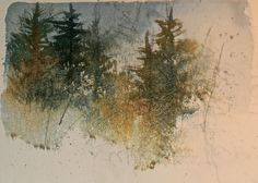 UTAH LANDSCAPES IN WATERCOLOR: This evenings watercolor sketch……….getting ready ...