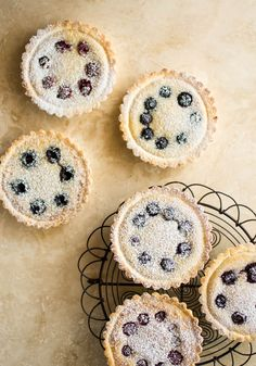 butter and brioche | Berry Frangipane Tartlets | http://www.butterandbrioche.com