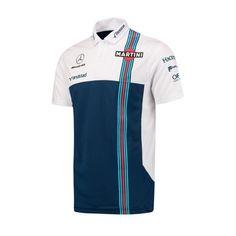 da54295e Williams Martini Racing Men's Team Polo Shirt Martini Racing, Golf Shirts,  Tee Shirts,