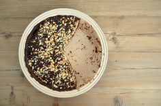 Try this decadent and delicious Chocolate Peanut Butter Pie via lifeovereasy.com/ #recipe #dessert #sweet