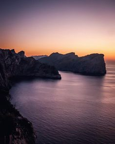 Sunset at the Formentor  #Mallorca #cliffs #formentor #travel #agameoftones #holidays #mejorca #balearicislands #explore #sunset #nature