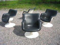 Junior chairs design by Yrjo Kukkapuro Made by Haimi year 1967 Finland Massage Chair, Chair Design, Finland, Chill, Retro, Home Decor, Decoration Home, Room Decor, Retro Illustration
