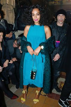 Solange Knowles's Street Style Game Has Never Been Better via @WhoWhatWear