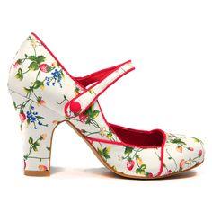 Tyler by I Love Billy. #ilovebilly #maryjaneshoes #heels #Under100 #strawberries #affordable #fashion