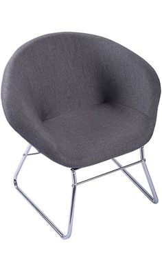 Giantex Modern Gray Accent Chair Leisure Arm Sofa Lounge Living Room Home Furniture Best Price