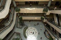 Shanghai. Museo delle Belle Arti, il cortile interno - id: 3705