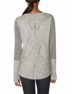 OBR Cable Lace Back Sweater | Women's Tops | THE LIMITED