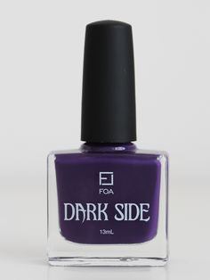 Unleash your Dark Side this winter with Face of Australia's Limited Edition nail enamel - Ursula $4.95 http://www.fashionaddict.com.au/brands/face-of-australia/face-of-australia-nails/face-of-australia-dark-side-nail-polish-ursula.html