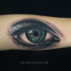 tattoo eye by Jose Contreras @joseecd