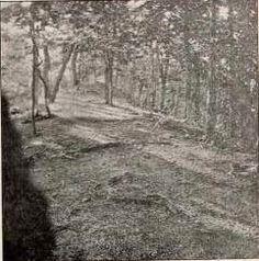 Rare Photos of Ancient Indian Trails in Ohio