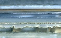 Richard Weston's image of banded agate looks like the ocean.