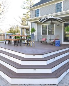Deck with no railing...