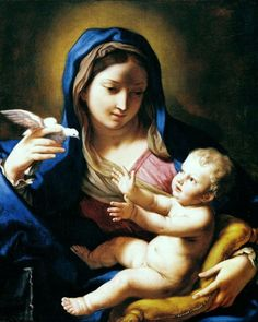 Mary and Jesus by Elisabetta Sirani(1638 1665)