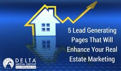 5 Lead Generating Pages That Will Enhance Your Real Estate Marketing Real Estate Leads, Selling Real Estate, Real Estate Tips, Lead Generation, Real Estate Marketing, Things To Come