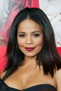 Sanaa Lathan // Hair by Larry Sims Beautiful Gorgeous, Beautiful Black Women, Beautiful People, Naturally Beautiful, Beautiful Ladies, Short Black Hairstyles, Celebrity Hairstyles, Hair Color For Dark Skin, Nia Long