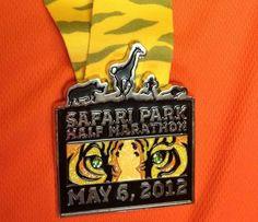 Safari Park Half Marathon, San Diego, CA.  Approximately May 6.  www.sandiegozoo.org/halfmarathon