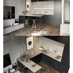 "6 Me gusta, 1 comentarios - . (@cvalue.skunk.1) en Instagram: ""#Interior #상가인테리어#주택리모델링…"" Loft, Corner Desk, Conference Room, Table, House, Interior Ideas, Furniture, Kitchen Ideas, Kitchens"
