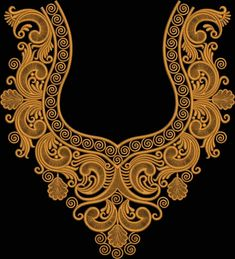 Best 12 embroidery designs – Home – Page 550424385701194586 Border Embroidery Designs, Machine Embroidery Patterns, Embroidery Applique, Embroidery Monogram Fonts, Embroidery Transfers, Creative Embroidery, Embroidery Fashion, Sewing Collars, Fancy Blouse Designs