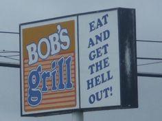 Bob's Grill, 1219 South Croatoan Highway in Kill Devil Hills, NC.