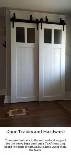 How To Build A Sliding Barn Door The Turquoise Home Diy Door Diy Barn Door Barn Doors Sliding
