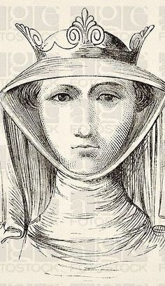 painting of isabella of france she wold | Isabella of France circa 1295 to 1358 known as the She-Wolf of France ...Isabella arrived in England at the age of 12 .. Her new husband was notorious for the patronage he lavished on his favourite, Piers Gaveston, ... Edward later turned to a new favourite, Hugh Despenser the younger, ;Isabella detested dispenser.....her marriage deteriorated..   she formed a relationship with roger Mortimer welsh border lord...       Pinned from  agefotostock.com