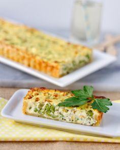 Springtime Quiche Primavera with Asparagus, Peas & Ricotta – she cooks, she gardens