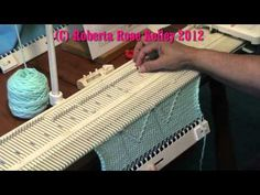 ~ Manual Tuck Stitch How to do hand manipulation tuck on the as well as the manual knitting machine.