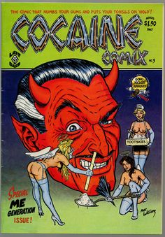 "Includes a character ""Frances The Talking Drug-Mule"" by George DiCaprio (Leonardo's old-man) -  http://www.ugcomix.info/store/ug-c.html"