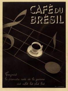 Café du Brésil, 1937 Via Luis César
