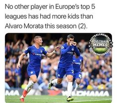 So Morata is scoring Football Comedy, Football Memes, Big Joke, Man United, Scores, Baseball Cards, Funny, Kids, Instagram