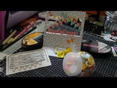 Cute as a Button Edgeable! Crafters Companion Cards, Card Designs, Homemade Cards, Studios, Scrap, Boxes, Calm, Kit, Make It Yourself
