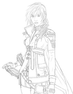 Lightning Line Art 2 by Ignis-Phoenix.deviantart.com on @deviantART