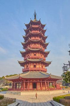 Ancient Chinese Architecture, Asian Architecture, Classical Architecture, Japan Landscape, Chinese Landscape, Chinese Garden, Famous Buildings, Amazing Buildings, Pagoda Temple