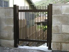 Gate Series — KunkelWorks Front Gates, Entry Gates, Front Gate Design, Door Design, Bamboo Light, Iron Doors, Gallery, Furniture, Home Decor