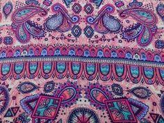 Viscose Estampada Kashmir Pink