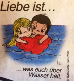 Liebe ist ... Love Is Cartoon, Love Is Comic, Girl Cartoon, I Love You, My Love, New Years Eve Party, True Love, Winnie The Pooh, Love Quotes