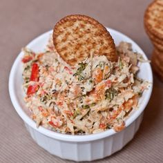 Healthy Roasted Veggie and Chicken Spread